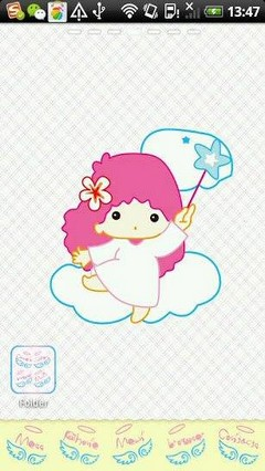 Go Launcher Angel Theme