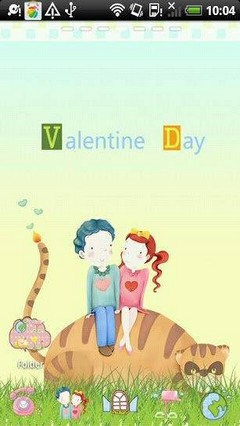 Valentine Day Theme Go Launcher