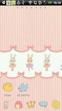 Go Launcher Rabbit Theme