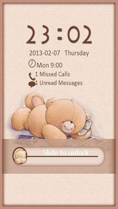 Bears in Love Go Locker Theme Free