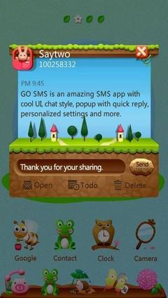 GO SMS PRO SkyWay ThemeEX