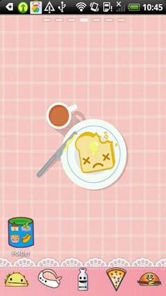 Food Theme Go Launcher Ex
