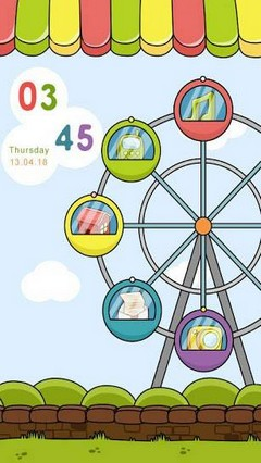 Ferris Wheel GO Locker Theme
