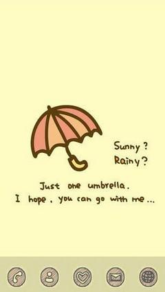 Rainy Theme