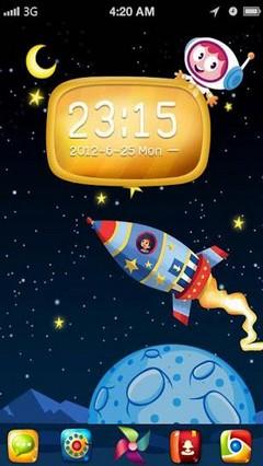 Space - GO Launcher Theme