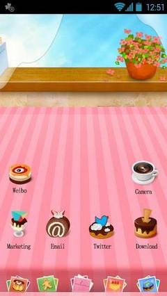 Dessert - GO Launcher Theme