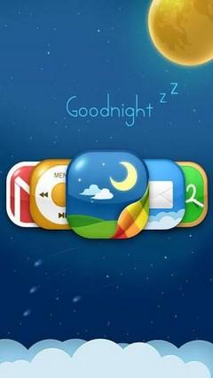 Goodnight GO LauncherEX Theme