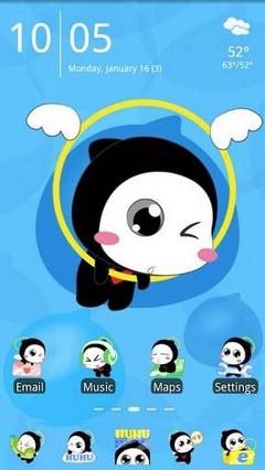 Hu Hu Go Launcher EX Theme