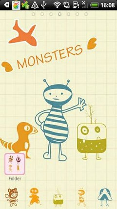 Monsters The GO Launcher Theme