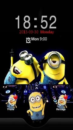 Minions Disco Locker