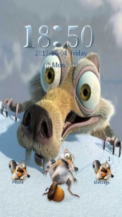 Funny Scrat Locker