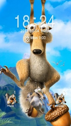 Just Scrat Locker