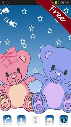 Go Launcher Ex Teddy Bear