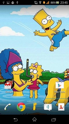 The Simpsons Theme (Apex /GO/ ADW / NEXT / NOVA)