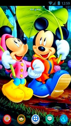 ATC 5 : Favourite Cartoon-Mickey&Minnie