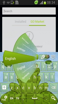 Frog Keyboard-release