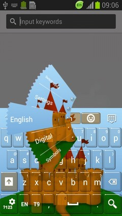 Castle Theme Keyboard-release