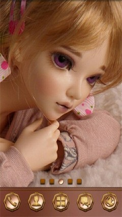 LOT TMP 6-Cute Doll