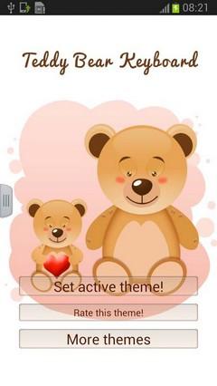 Teddy Bears Keyboard