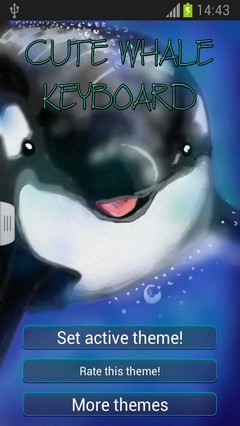 Cute Whale Keyboard