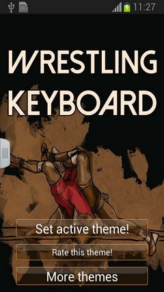 Wrestling Keyboard