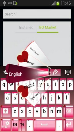 Cupid Keyboard