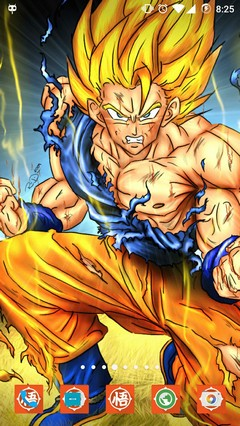 GOKU ANDROID LAUNCHER THEME ICON PACK HD