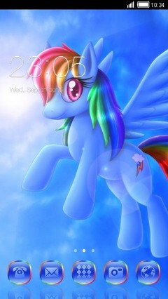 My Little Pony Clauncher Theme