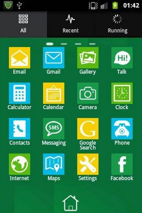 Windows 8 GO Launcher Theme 1.5