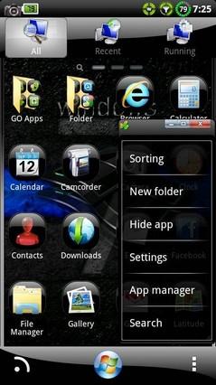 Windows 7 Black GO Theme