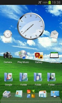 Windows PC Next Launcher Theme