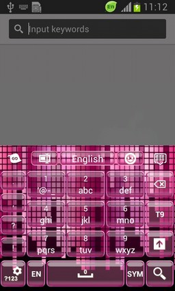 Digital Pink Keyboard-release