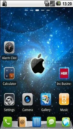 iPhone GO Launcher