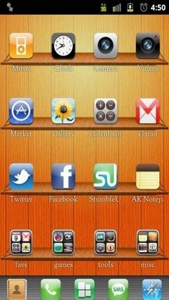 ios iphone go launcher