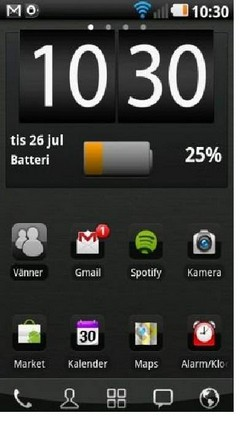 Black chrome Go Launcher
