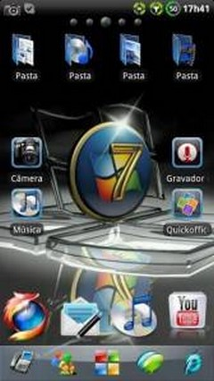 Windows 7 GO Launcher EX Theme 1.15