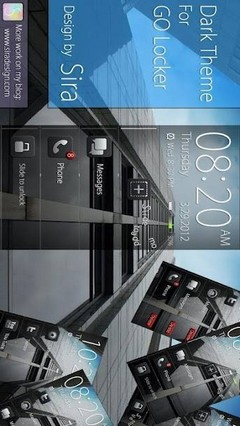 Dark Pro GO Locker Theme