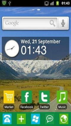 Windows 8 GO Launcher Theme 1.5