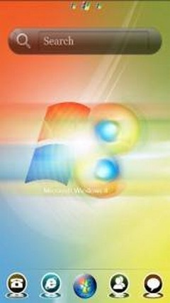 GO Launcher EX Windows 8 Theme v1.0