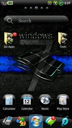 Windows 7 Black GO Theme