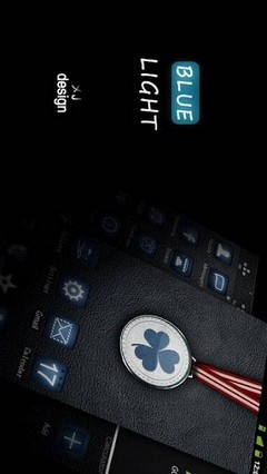 Bluelight GO LauncherEX Theme 1.0