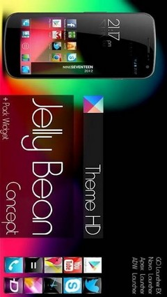 Jelly Bean HD Theme