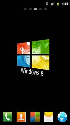 Windows 8 HD GO Theme