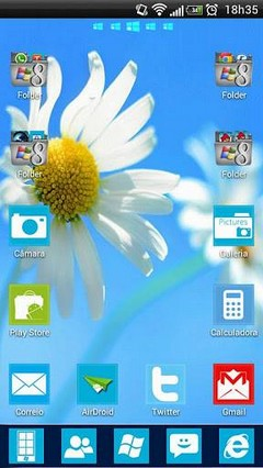 Windows 8 GO Launcher Theme