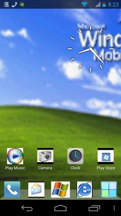 Windows XP Mobile Theme For Android (UPDATED READ DESCRIPTION)