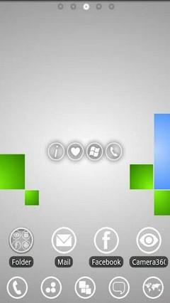 GO Launcher EX Windows Phone 7