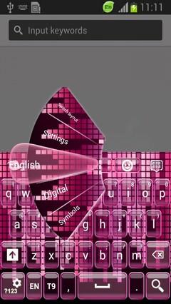 Digital Pink Keyboard-release