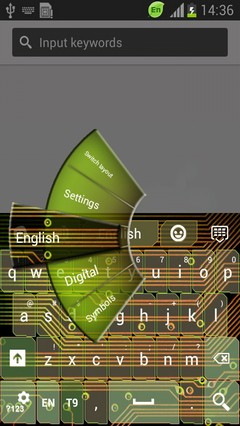 Circuit Board Keyboard