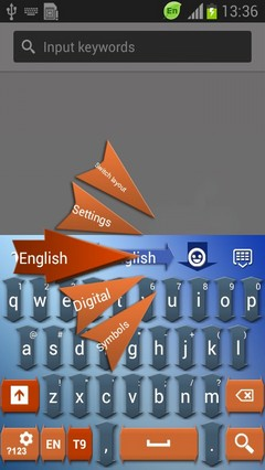 Arrow Keyboard