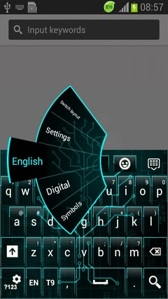 Digital Tree Keyboard